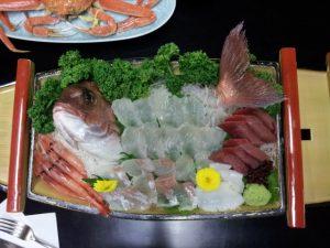 真鯛のお造り